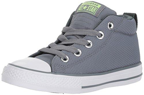 Converse Boys' Chuck Taylor All Star Street Sneaker, Stone/Brick, 10 M US Toddler -