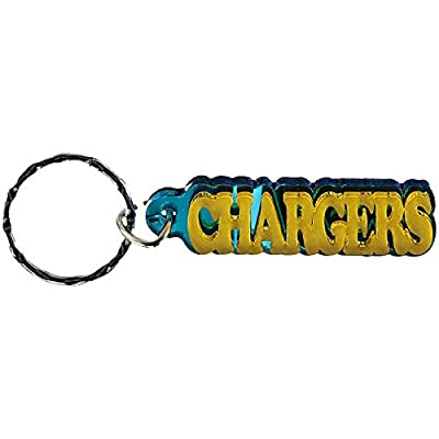 Los Angeles Chargers Acrylic Freeform Frost Accent Keychain
