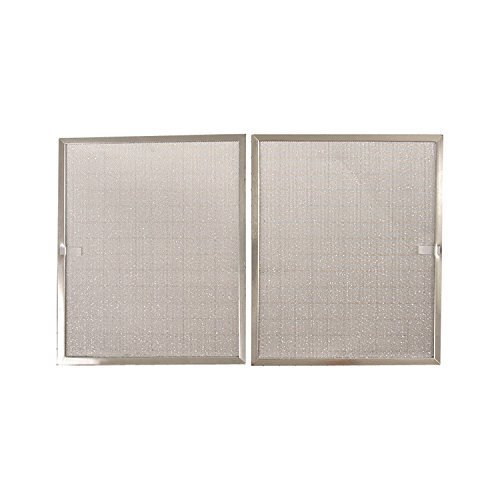 "Price comparison product image Broan BPS1FA30 Replacement Filters for QS1 and WS1 30"" Range Hoods, Aluminum, 2-Pack"
