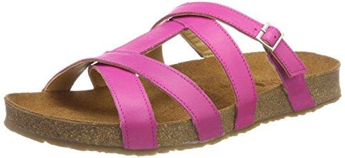 Haflinger WoMen Sarah T-Bar Sandals Pink (Magenta 1509)