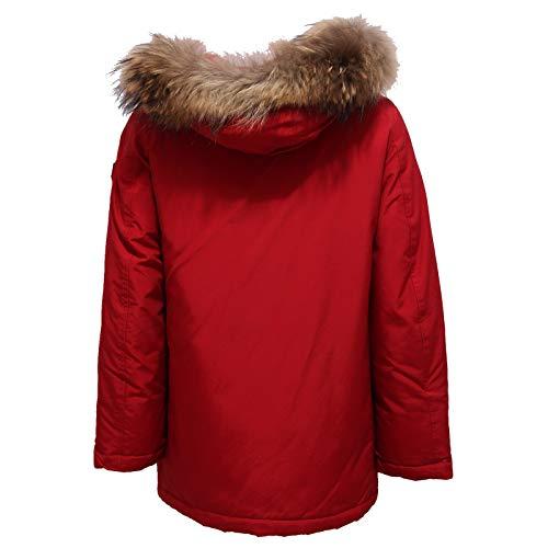 6370x Detachabl Parka Boy Piumino Jacket Bimbo Red Woolrich Rosso Aq7wdOx7