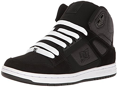 DC Shoes Women's Rebound High SE High Top Shoes Black Rinse 10.5 & Cleaner
