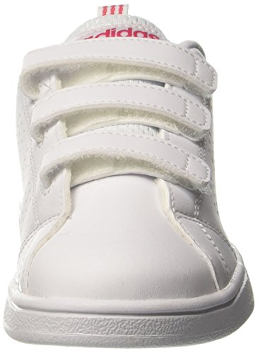 Baskets Cassé Mode Blanc adidas Mixte Advantage CMF F5 Enfant Vs White Clean Super Ftwr C Pink rFfqqTMXvo