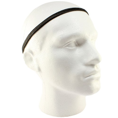 Mens Pack Of 3 Thick Elastic Football Hair Headbands  Amazon.co.uk  Sports    Outdoors 2ddc6c53679