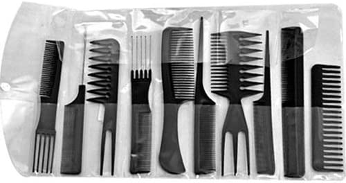 10X Peigne Peine comb cepillo plástico de peluquería: Amazon.es ...