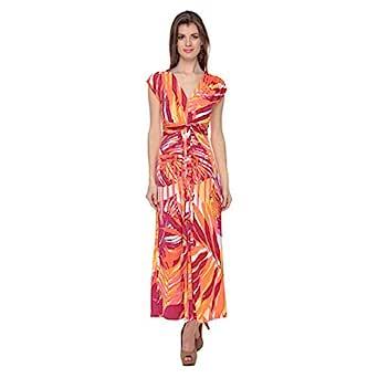 Cocum Maxi Dress For Women - 12 Uk, Multi Color