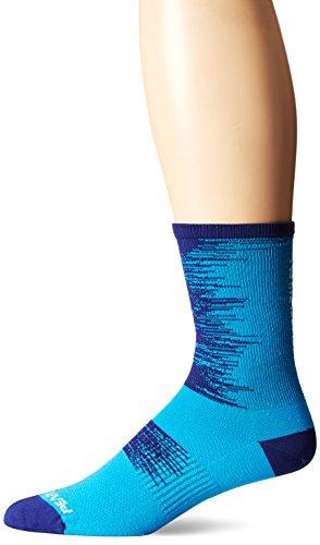 Pearl iZUMi Elite Tall Socks, Blue Depths Streamline, Medium
