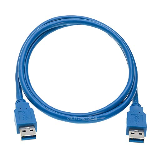 USB 3.0 A Male to A/B/C Male Cable Cord 3FT 6FT 10FT Data Wire Charger Printer Laptop Pc (3FT, (A - Male) to (A -Male))