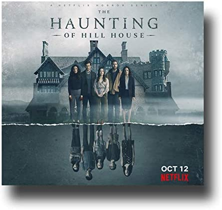 Amazon Com The Haunting Of Hill House Poster Tv Show Promo 11 X 11 Inches Reflection Netflix Home Kitchen