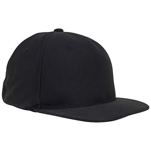 Adams Comfort Fit Interlock Combo Umpire 4-Stitch Cap, Black, Large/X-Large