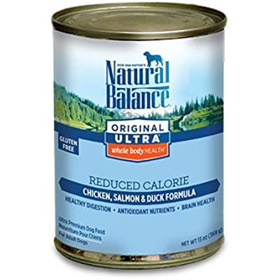 Natural Balance Pet Food Reduced Calorie Formula Dog Food -- 13 oz