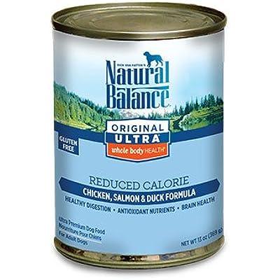 Natural Balance Pet Food Reduced Calorie Formula Dog Food -- 13 oz