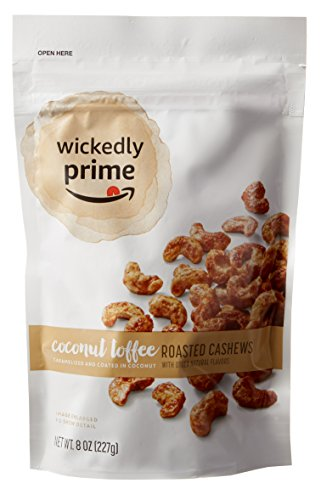 Wickedly Prime Roasted Cashews, Coconut Toffee, 8 Ounce (Pack of 3) by Wickedly Prime (Image #4)