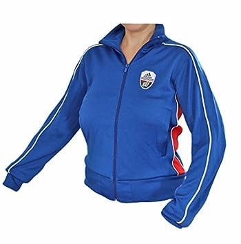 Adidas jacke damen blau rot