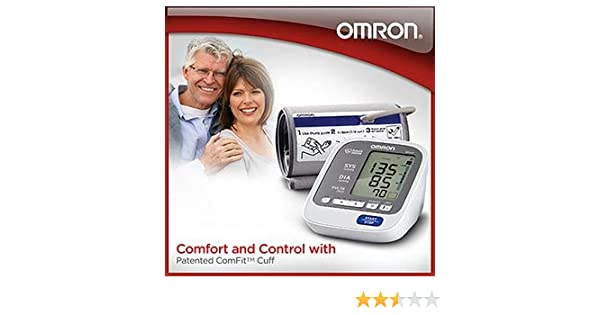 Amazon.com: Omron 7 Series Plus Upper Arm Blood Pressure Monitor (BP762): Health & Personal Care