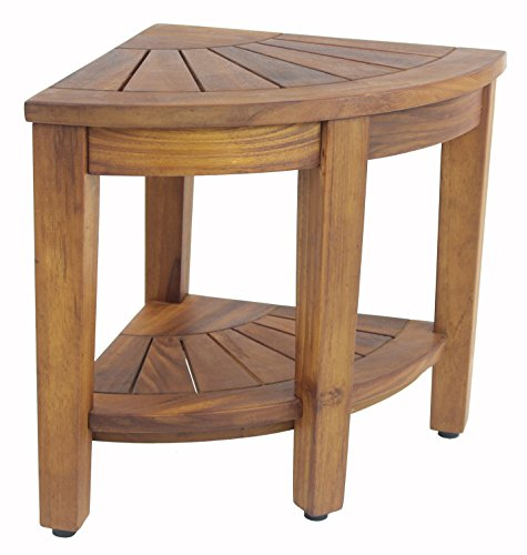 "The Original Kai 15.5"" Corner Teak Shower Bench"