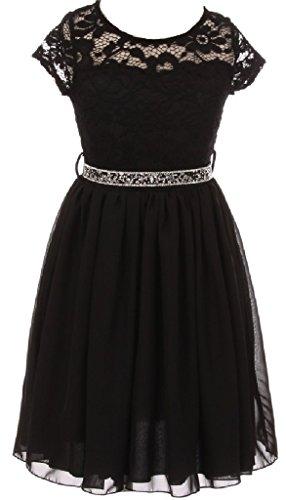 Sparkle Chiffon Skirt - 3