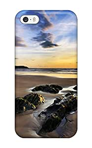 Sanp On Case Cover Protector For Iphone 5/5s (woolacombe Sands Uk)