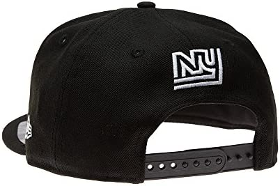 New Era ERA – Gorra York Giants NFL Negra – Tapa: Amazon.es ...