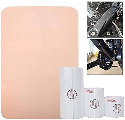 Tbest Adhesivo Protector con Escudo para Marco de Bicicleta ...