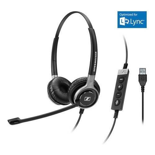 Sennheiser 504553 SC660 USB ML Dual Sided USB ML Headset for Microsoft Lync