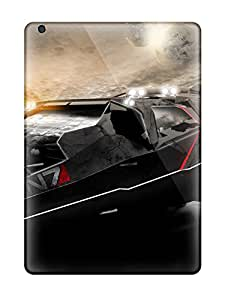Sanp On Case Cover Protector For Ipad Air (mass Effect N7 Car)