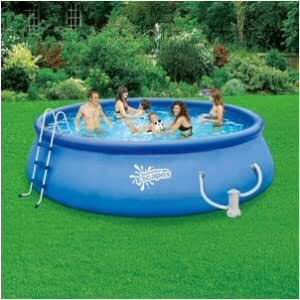 Summer escapes quick set ring pool 15 39 x 48 - Inflatable quick set swimming pool ...