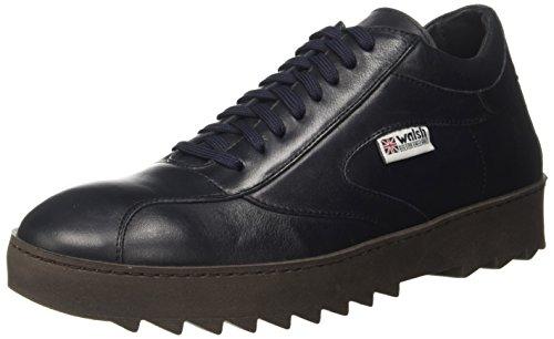 Walsh Midstyle Wrapper Sole, Sneaker a Collo Alto Uomo, Blu (Blue Leather), 42 EU