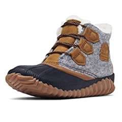 This comfy boot is as rain-defying as it is stylish. Crafted of a waterproof leather-and-felt combination and seam-sealed waterproof construction, it will keep you comfortably dry through all-day drizzles. The EVA footbed with luxurious faux ...
