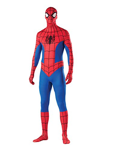 Rubie's Men's Marvel 2nd Skin, Spider-Man, -