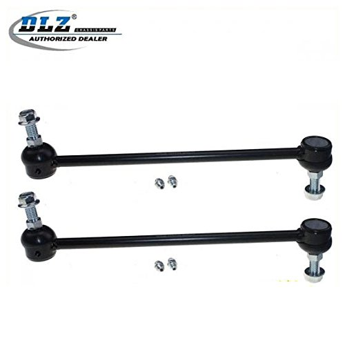 DLZ 2 Pcs Front Sway Bar End Links Compatible with 1996 1997 1998 1999 2000 2001 2002 2003 2004 2005 2006 2007 2008 2009 2010 2011 2012 2013 2014 Chrysler Town & Country Dodge Grand Caravan K7258