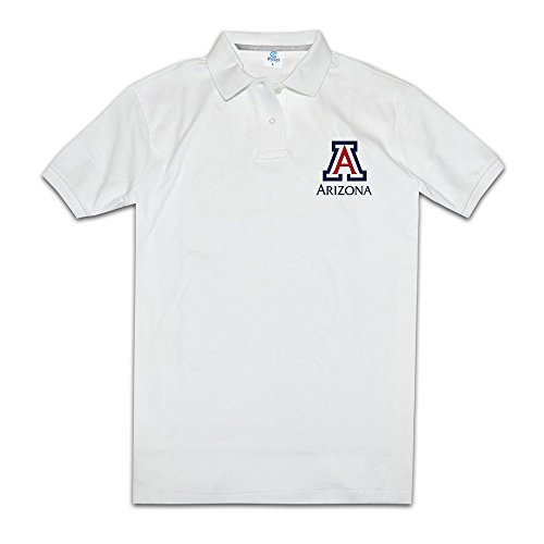 Cotton Pique Jeans - Tops & T-Shirts Arizona University Man's Pique Polo Slim Fit