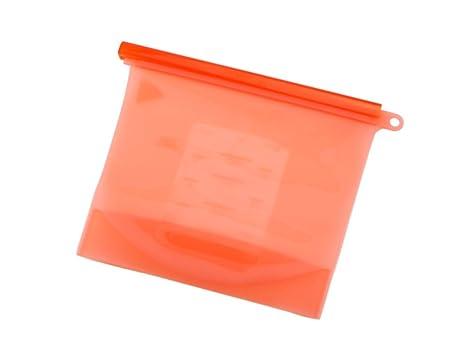 Bolsa de silicona para congelador, bolsa de almacenamiento de ...