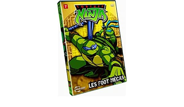Amazon.com: Tortues Ninja, Vol. 7 Les Foot Mecas (French ...