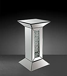 St Nysa Mirrored Pedestal Stand