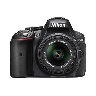 Nikon D5300 24.2 MP CMOS Digital SLR Camera with 18-55mm f/3.5-5.6G ED VR Auto Focus-S DX NIKKOR Zoom Lens (Black) 8