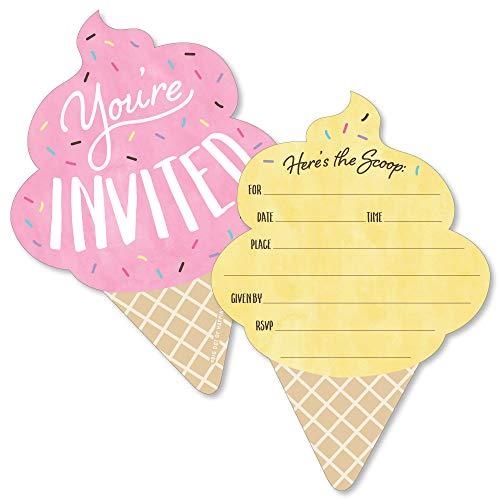 ice cream birthday invitations - 5