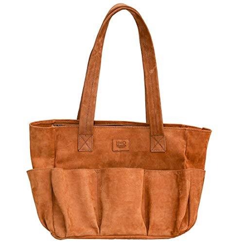 Hide & Drink, Leather Diaper Bag/Baby Care/Maternity/Tote/Handbag/Backpack/Travel Essentials, Handmade Includes 101 Year Warranty :: Old Tobacco