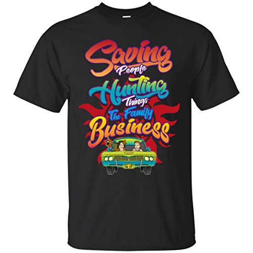 SUPERNATURAL THE FAMILY BUSINESS FUNNY CARTOON T-Shirt T-Shirt by SUPERNATURAL THE FAMILY BUSINESS FUNNY CARTOON T