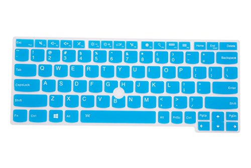 Leze - Ultra Thin Soft Keyboard Skin Cover for ThinkPad X230S,X240,X240S,X250 X260,S1 YOGA,YOGA 260,ThinkPad X1 Tablet Laptop - Blue