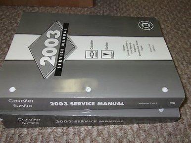 cavalier service manual - 1