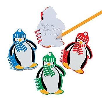 (Fun Express 24 Penguin Spiral Notepads~Party Favors and Supplies~School/Teacher)