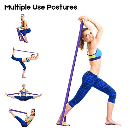 Mobility Band Home Workouts for Resistance Training Stretch Resistance Band Physical Therapy LEEKEY Resistance Band Set Pull Up Assist Bands Powerlifting Bands