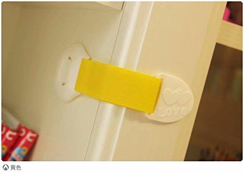 Doyeemei 5PCS Cerradura Seguridad Protector Pestillo de Cajón ...