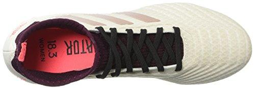 adidas Originals Women's Predator 18.3 FG W Soccer Shoe Talc/Vapour Grey/Maroon latest collections sale online EHdx0K