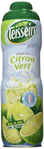 Lime (Citron Vert) Teisseire all natural Lime (Citron Vert) Syrup 600 ml 20.3oz