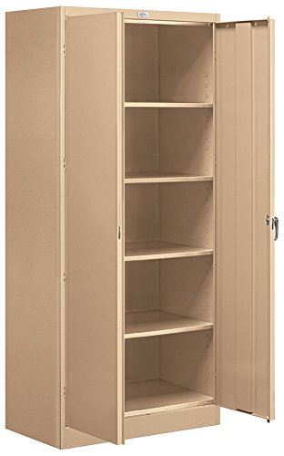Salsbury Industries Assembled Standard Storage Cabinet, 78-Inch High by 18-Inch Deep, Tan ()