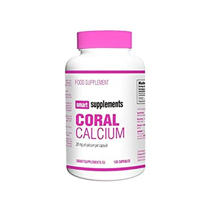 Smart Supplements Calcio Coral Suplemento - 60 Cápsulas