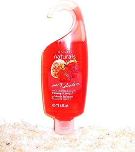 Avon Naturals Sunny Strawberry & Guava Shower Gel