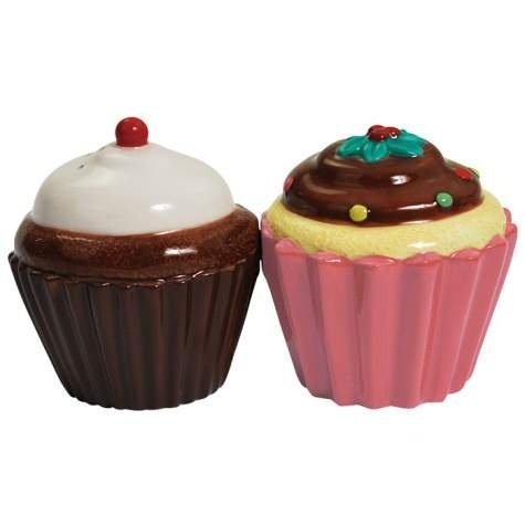 Westland Giftware Cupcakes Salt and Pepper